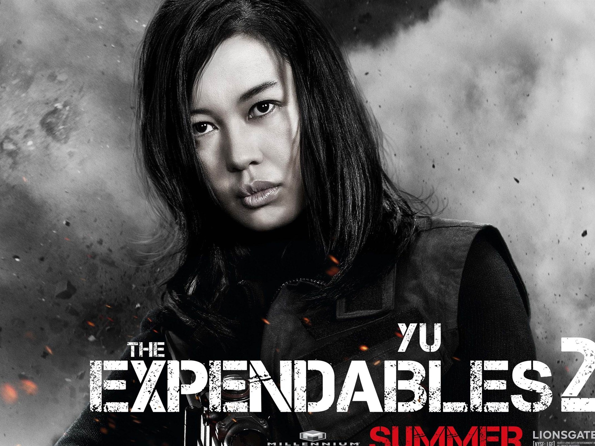 yu nan-the expendables 2 hd movie wallpaper Preview