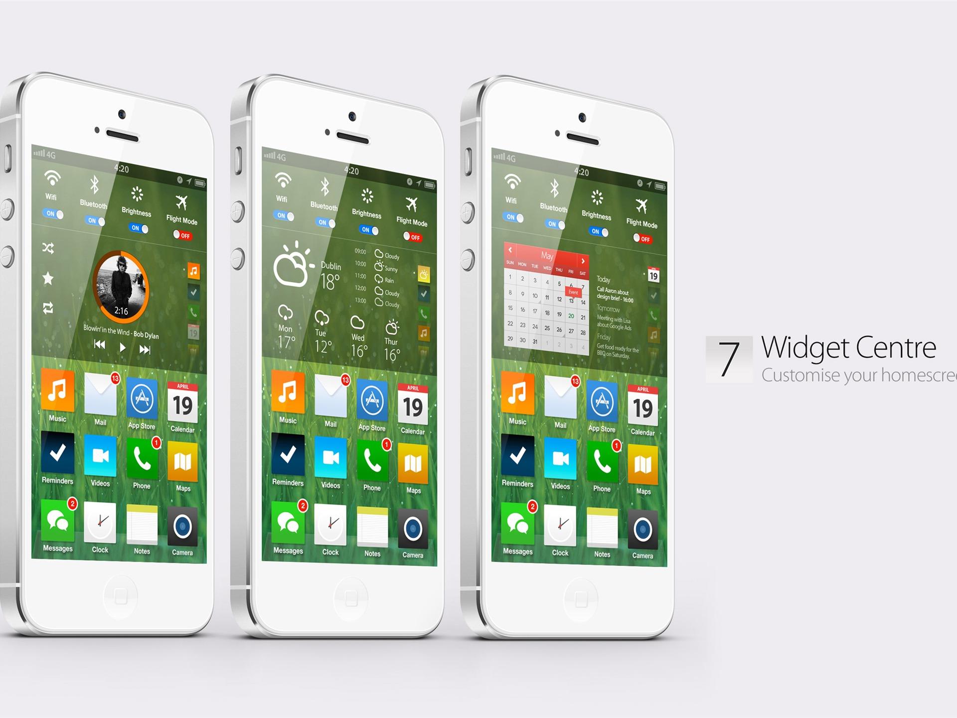 Ios 7 Iphone Wallpaper: Apple IOS 7 IPhone HD Widescreen Wallpaper 04-1920x1440