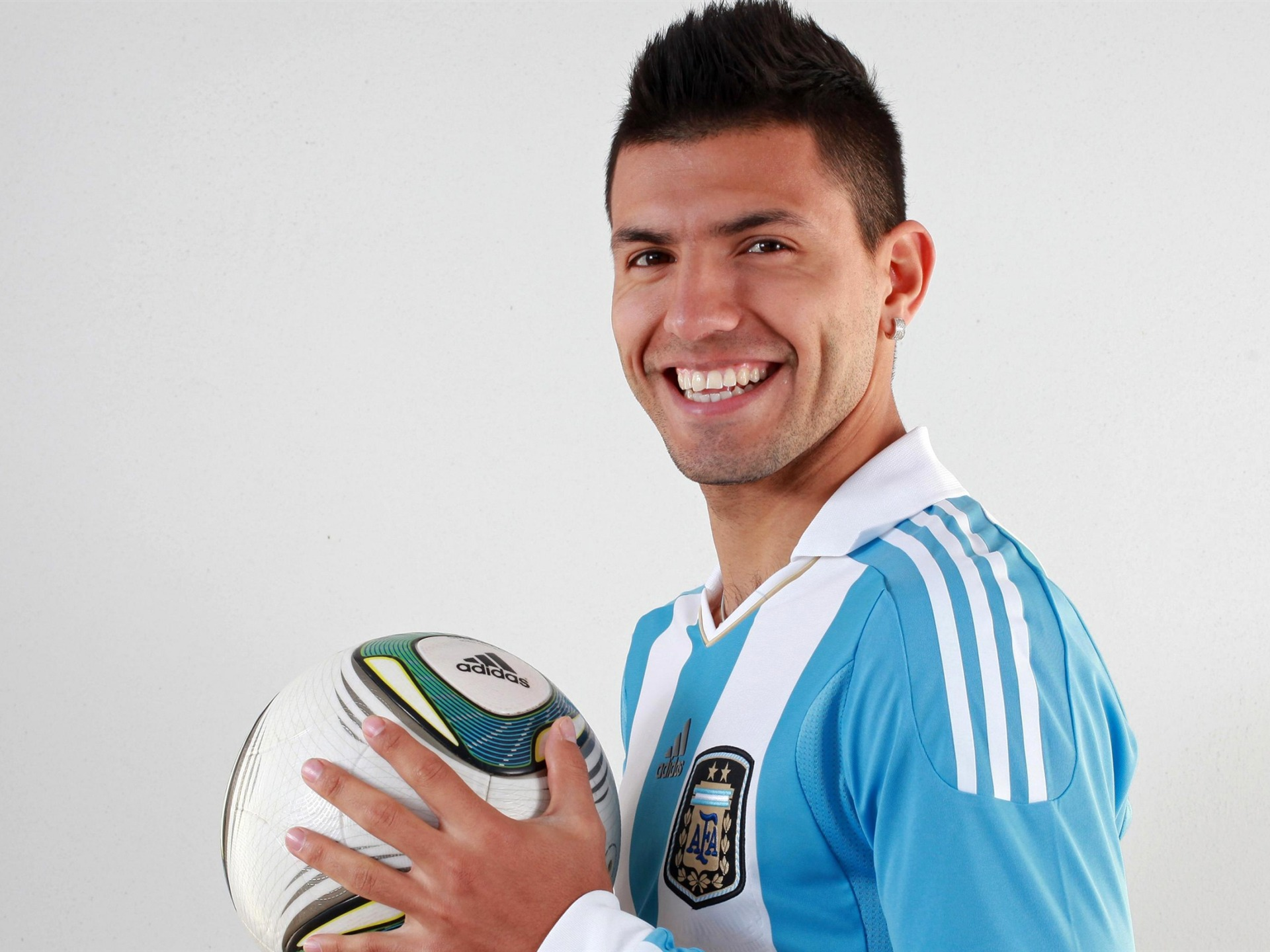 Sergio Aguero-2016 Football Star HD Fondo De Pantalla
