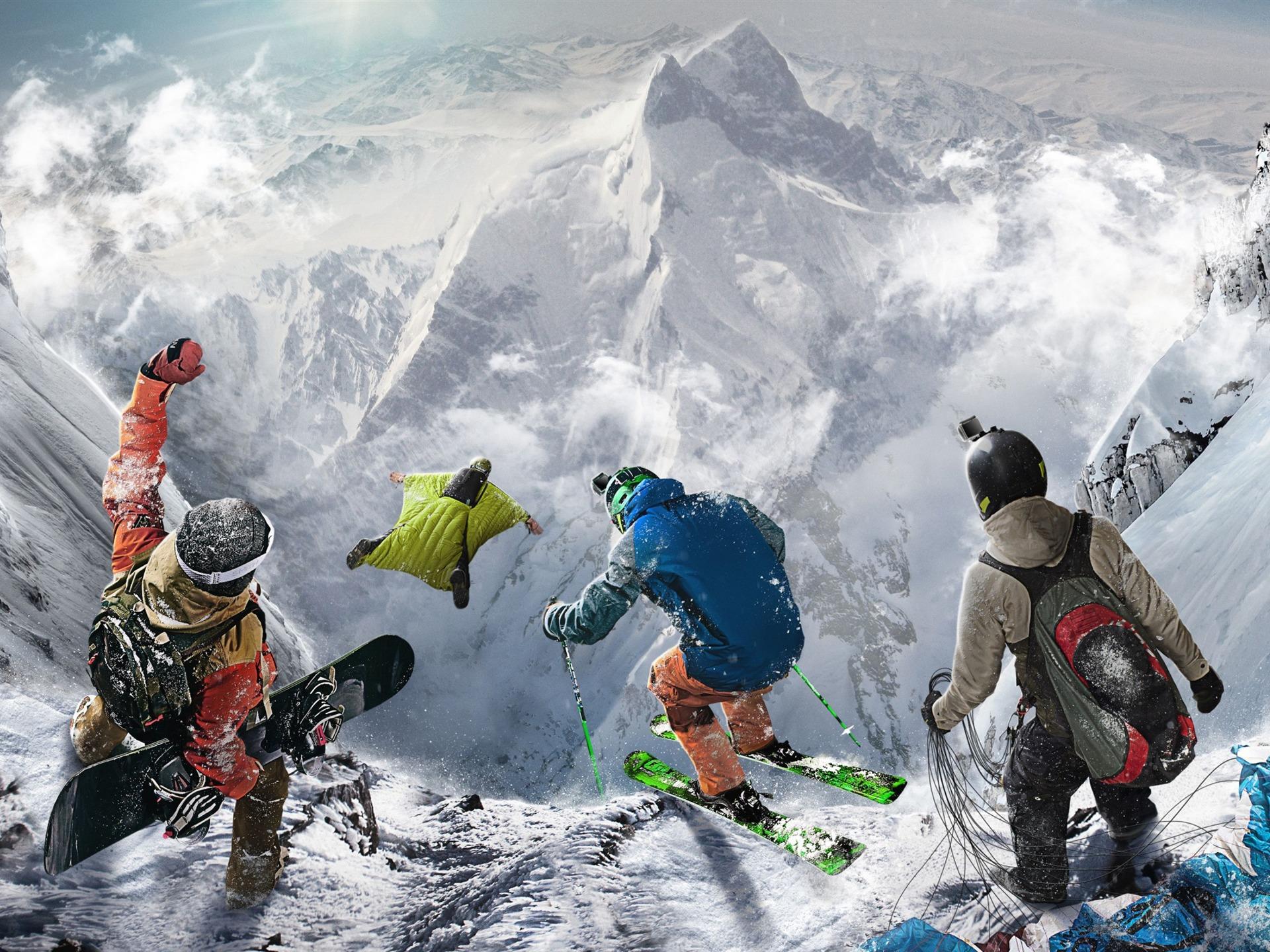 合金装备3高清壁纸_陡峭的极限运动 -游戏高品质高清壁纸预览   10wallpaper.com