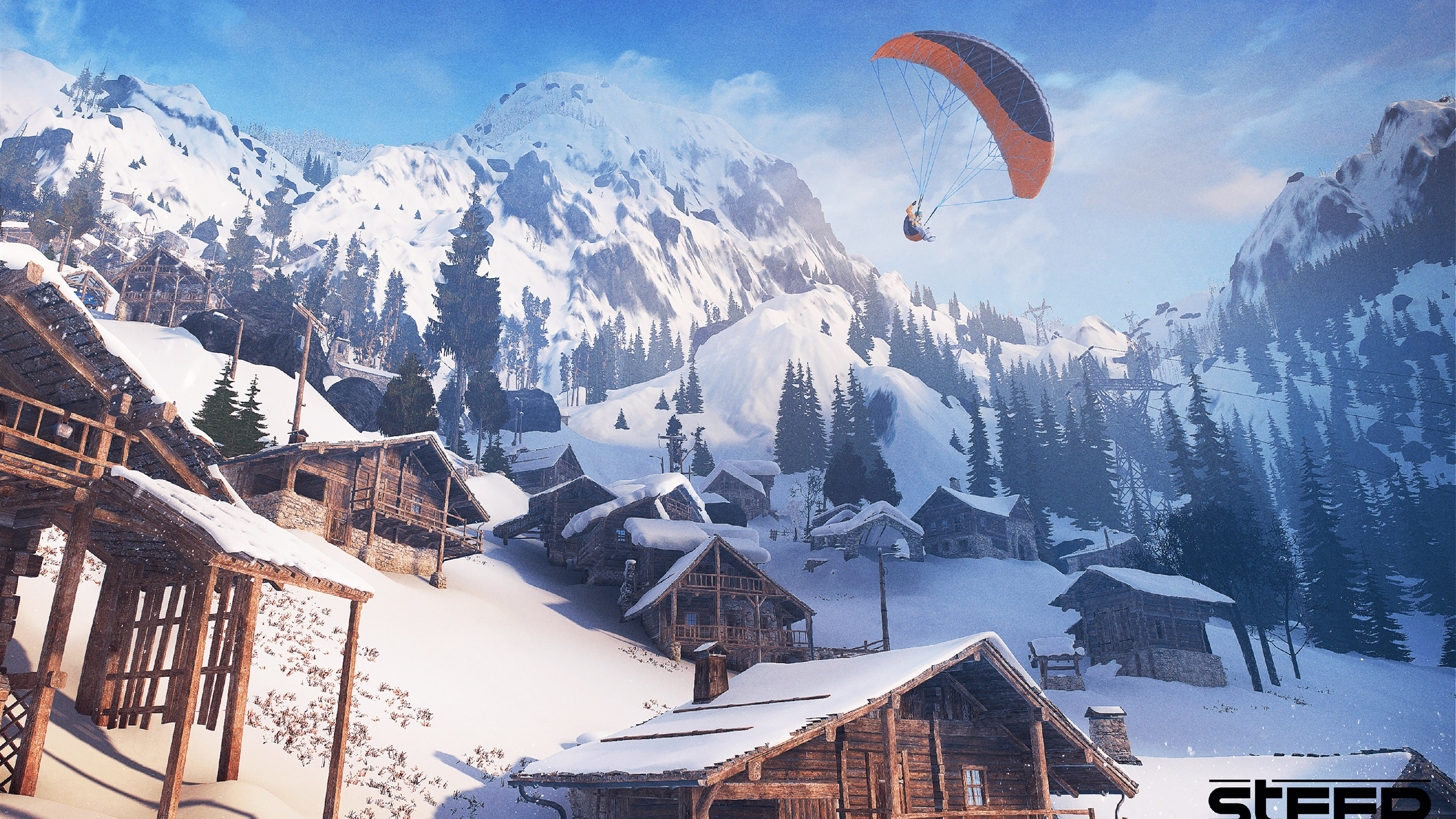 Steep Game 4K Ultra HD - 2560x1440 wallpaper download
