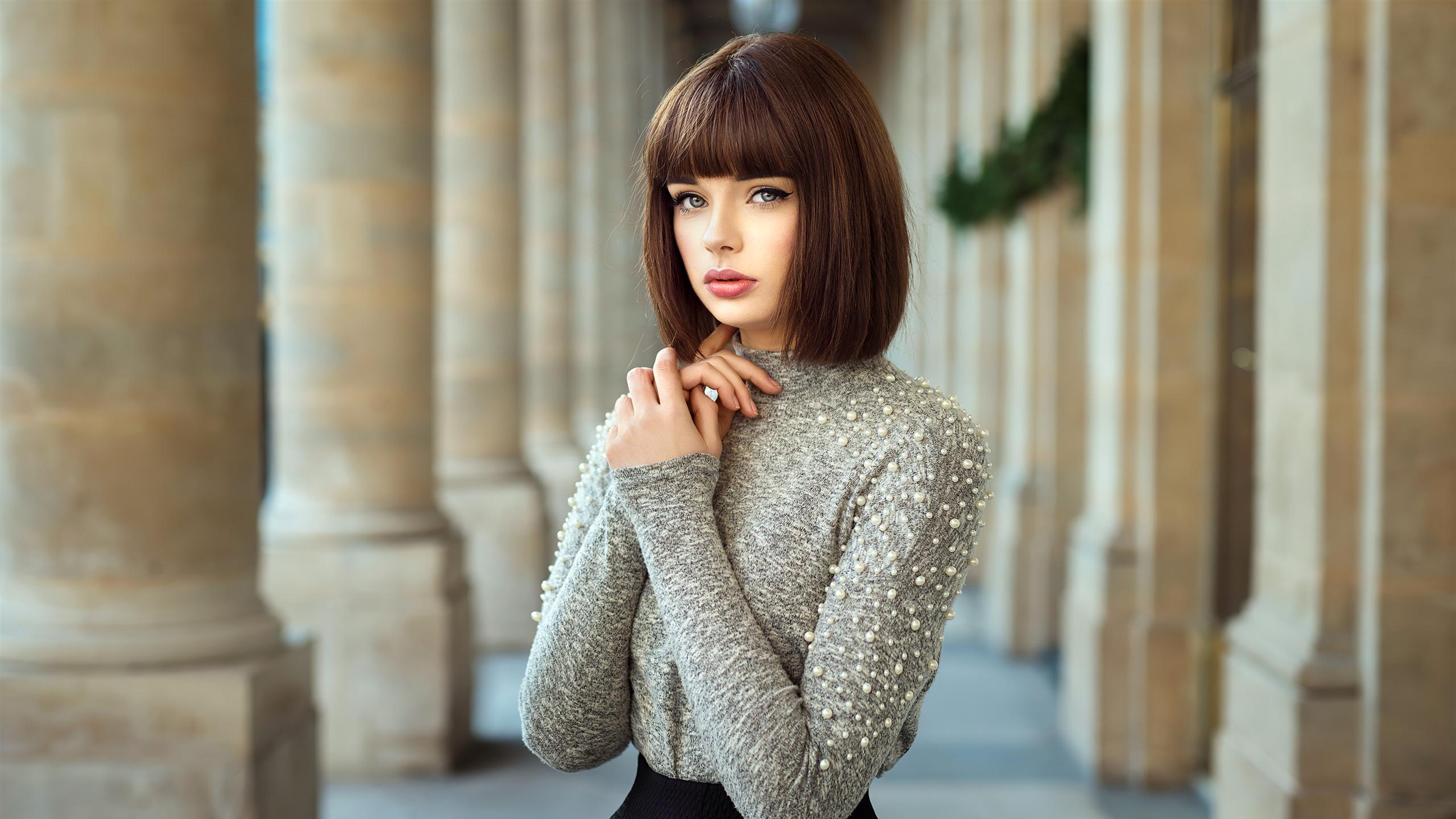 Short Hair Girl 2020 Fashion Model Hd Photo Preview