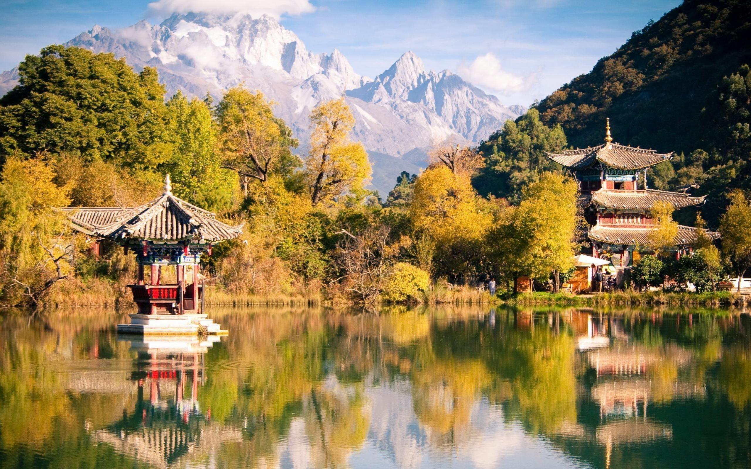Lijiang Yunnan China-natural landscape wallpaper Preview | 10wallpaper.com