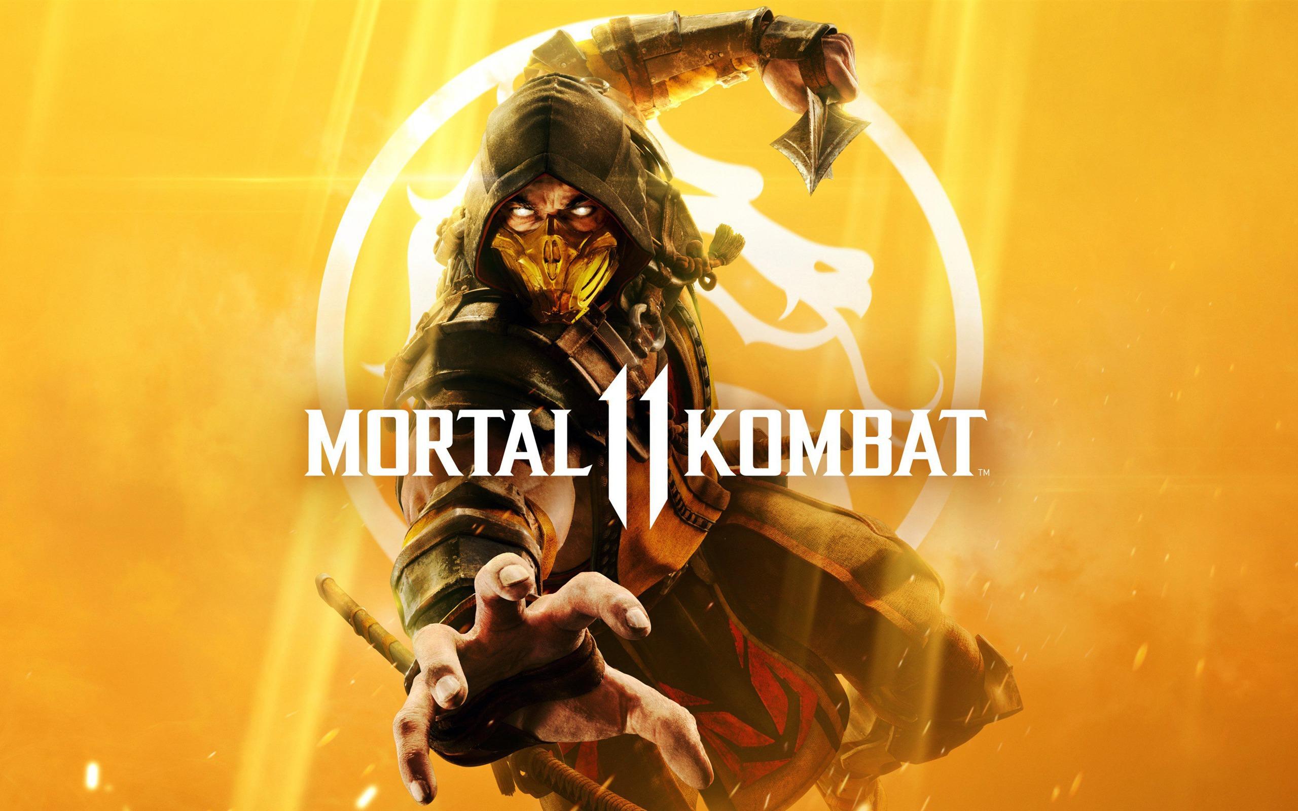 2019 Mortal Kombat 11 Hd Jeu Affiche Aper 231 U