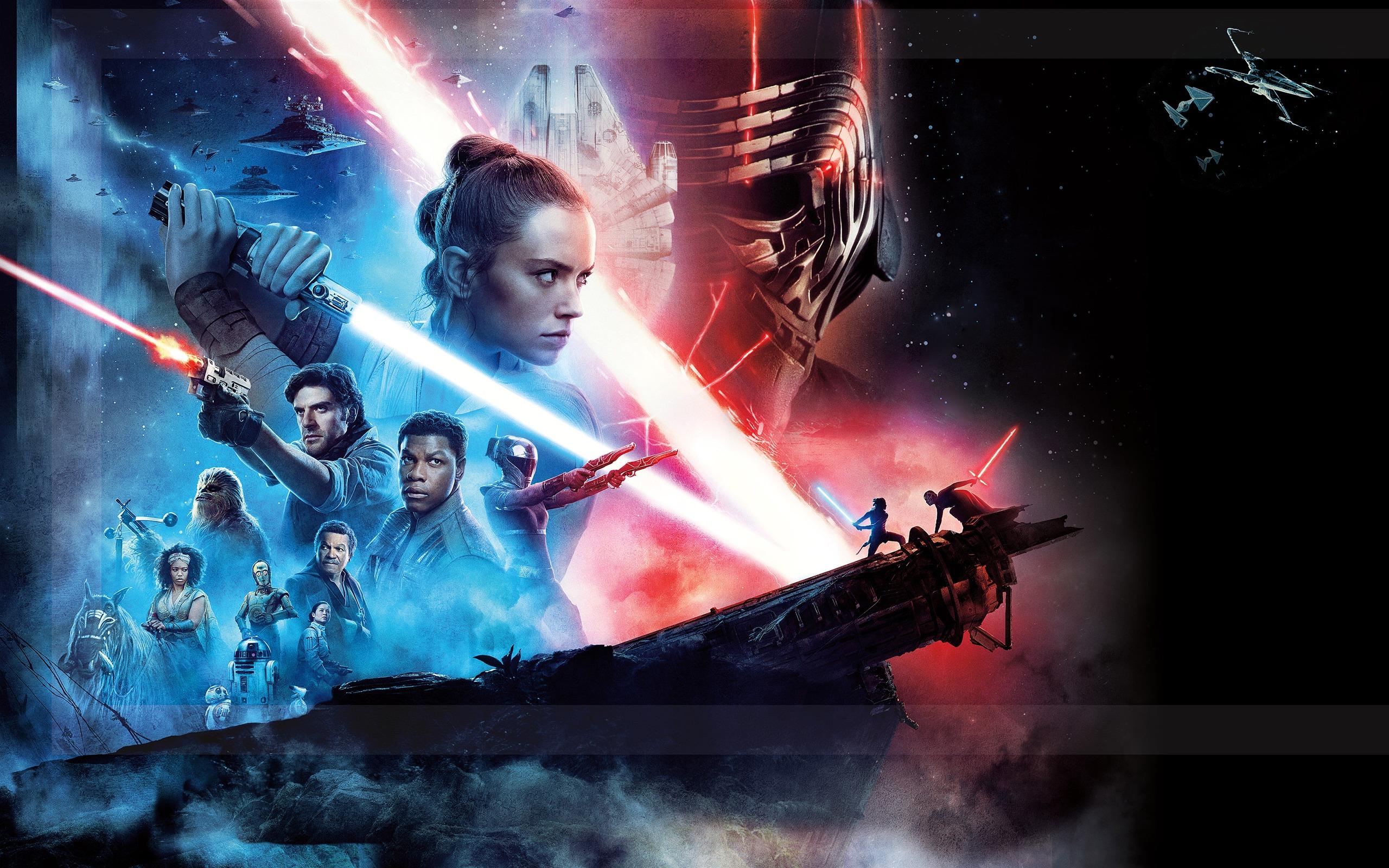星球大战:天行者的崛起,2019,电影,高清,海报预览 10wallpaper Com