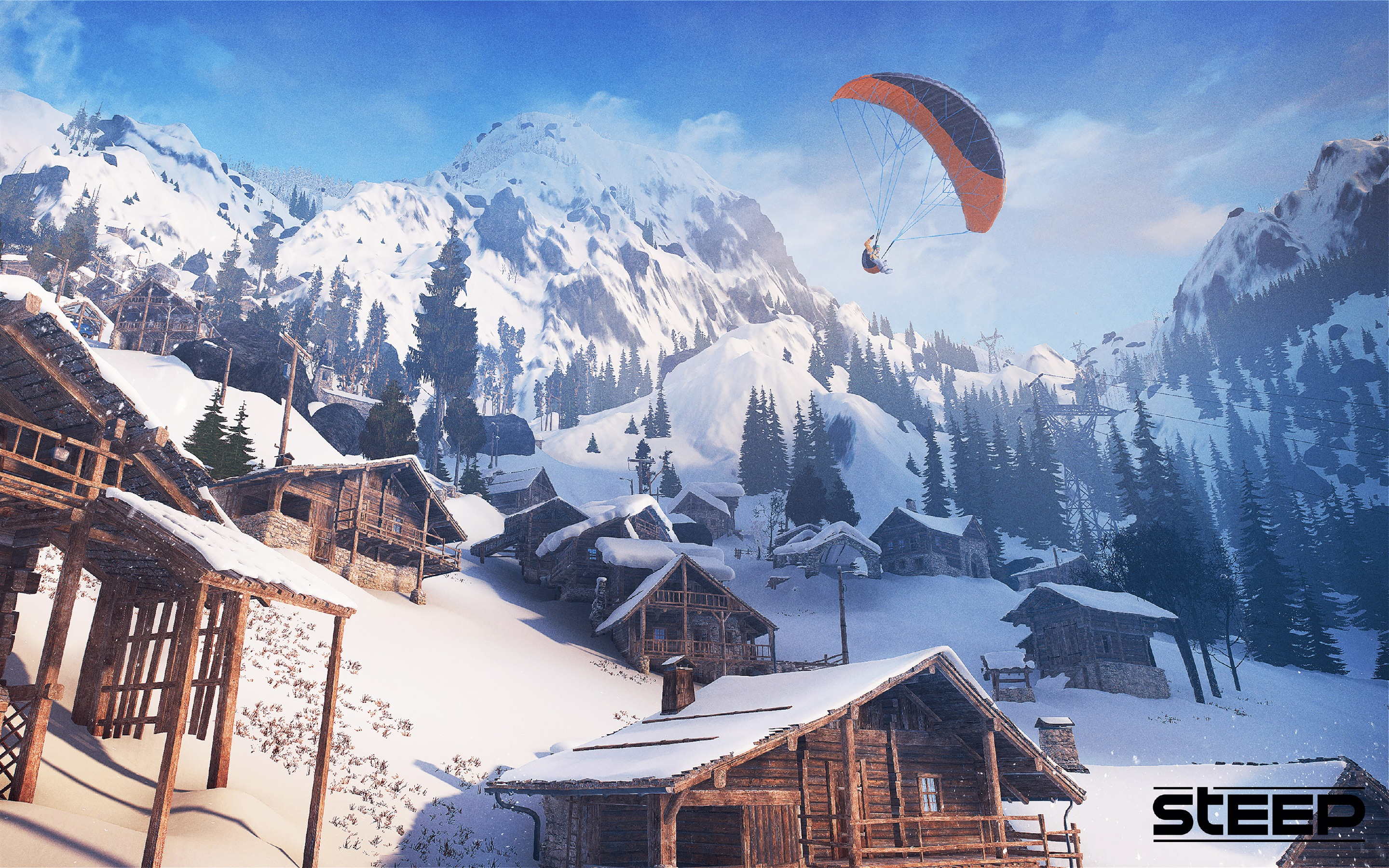 Steep Game 4K Ultra HD - 2880x1800 wallpaper download
