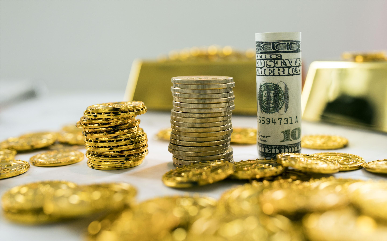 2014年日历壁纸_金币,美元,钞票,货币金融预览 | 10wallpaper.com