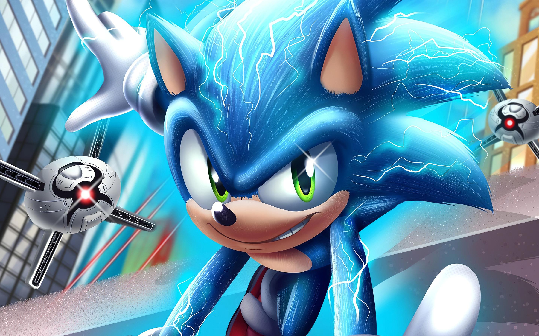 Sonic The Hedgehog 2020 Film Hd Poster Preview 10wallpaper Com