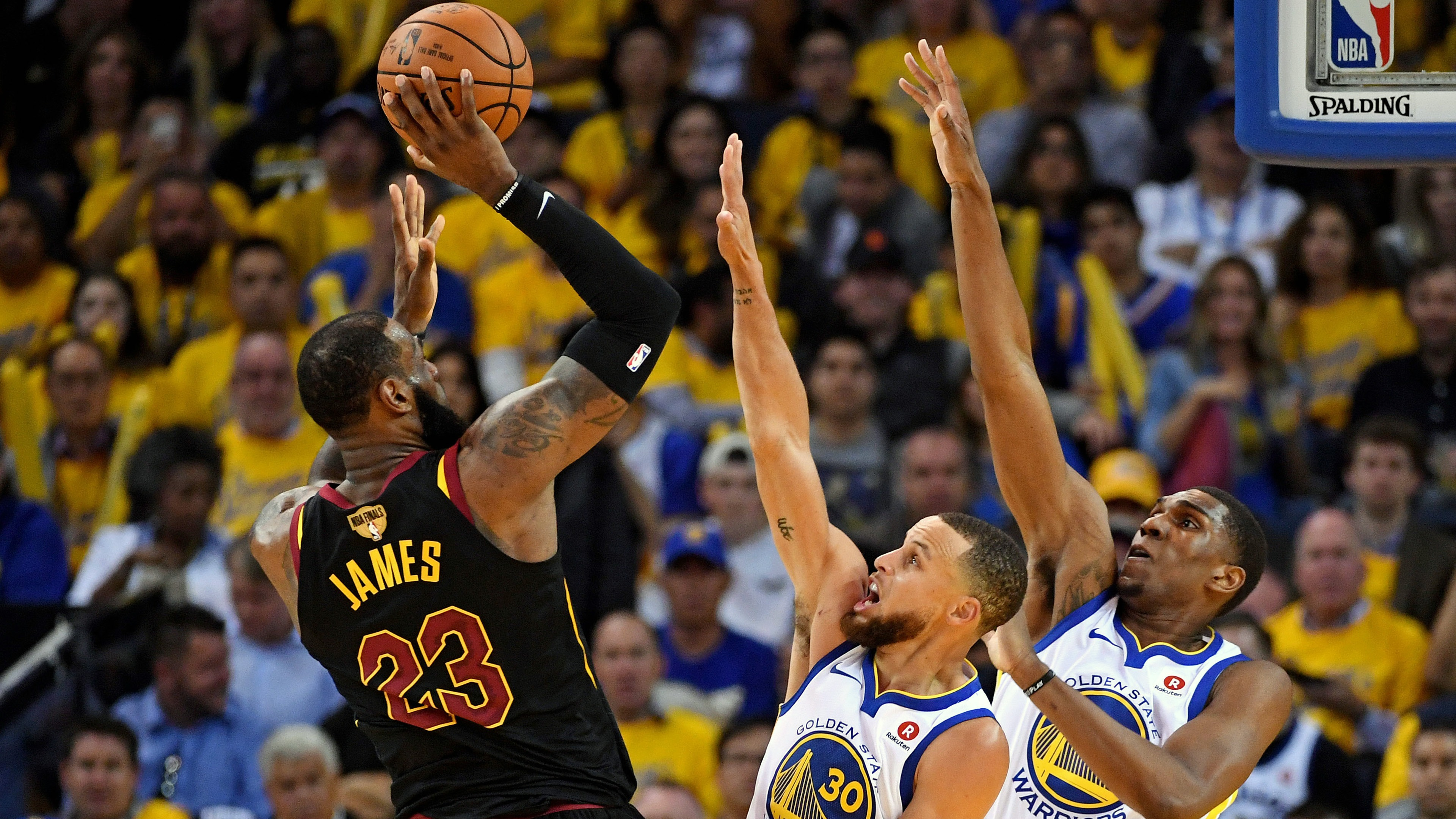 2018,NBA,总决赛,斯蒂芬·库里,勒布朗·詹姆斯预览 | 10wallpaper.com