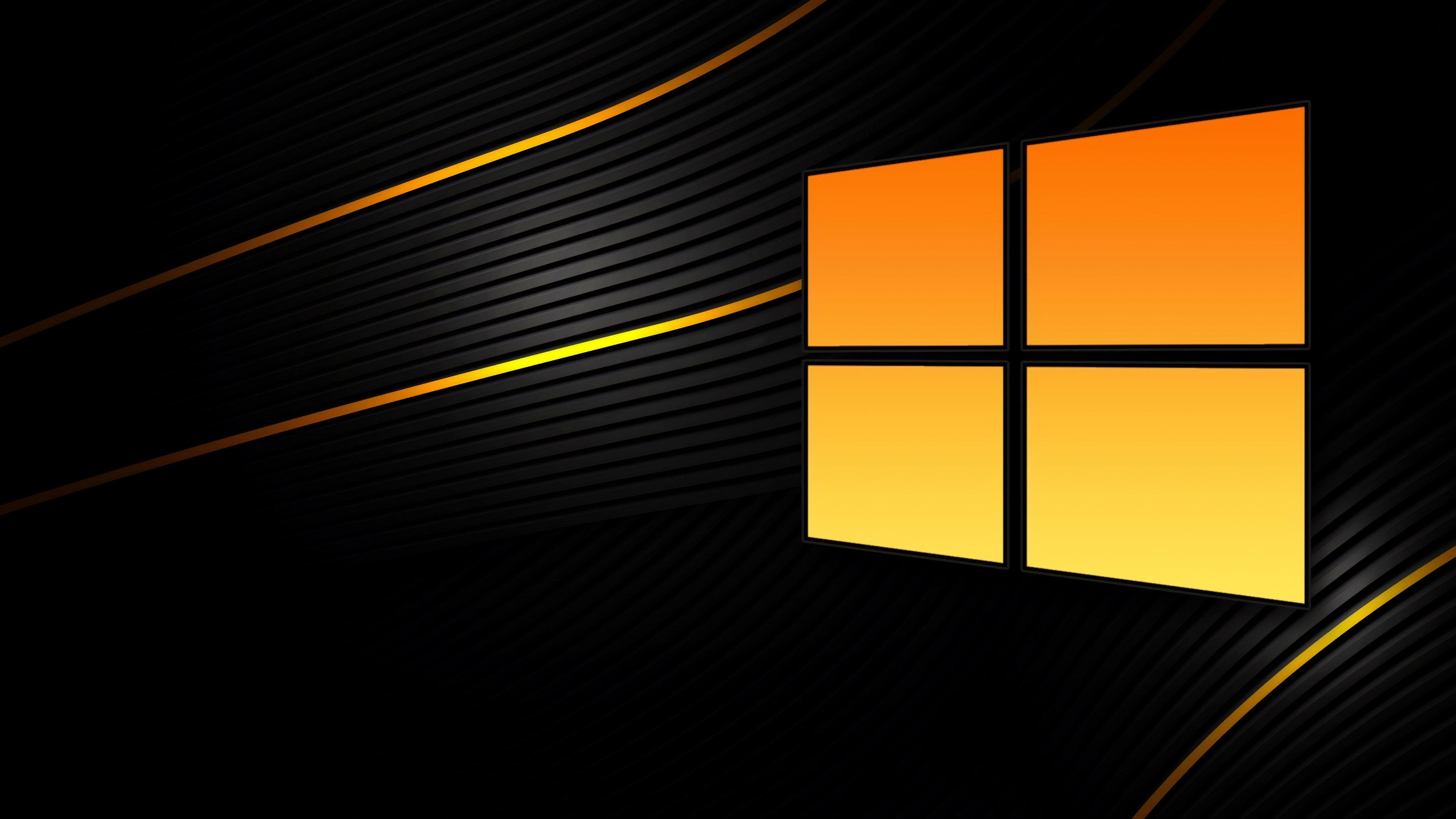 2018,微软,Windows 10,黑色,背景预览 | 10wallpaper.com