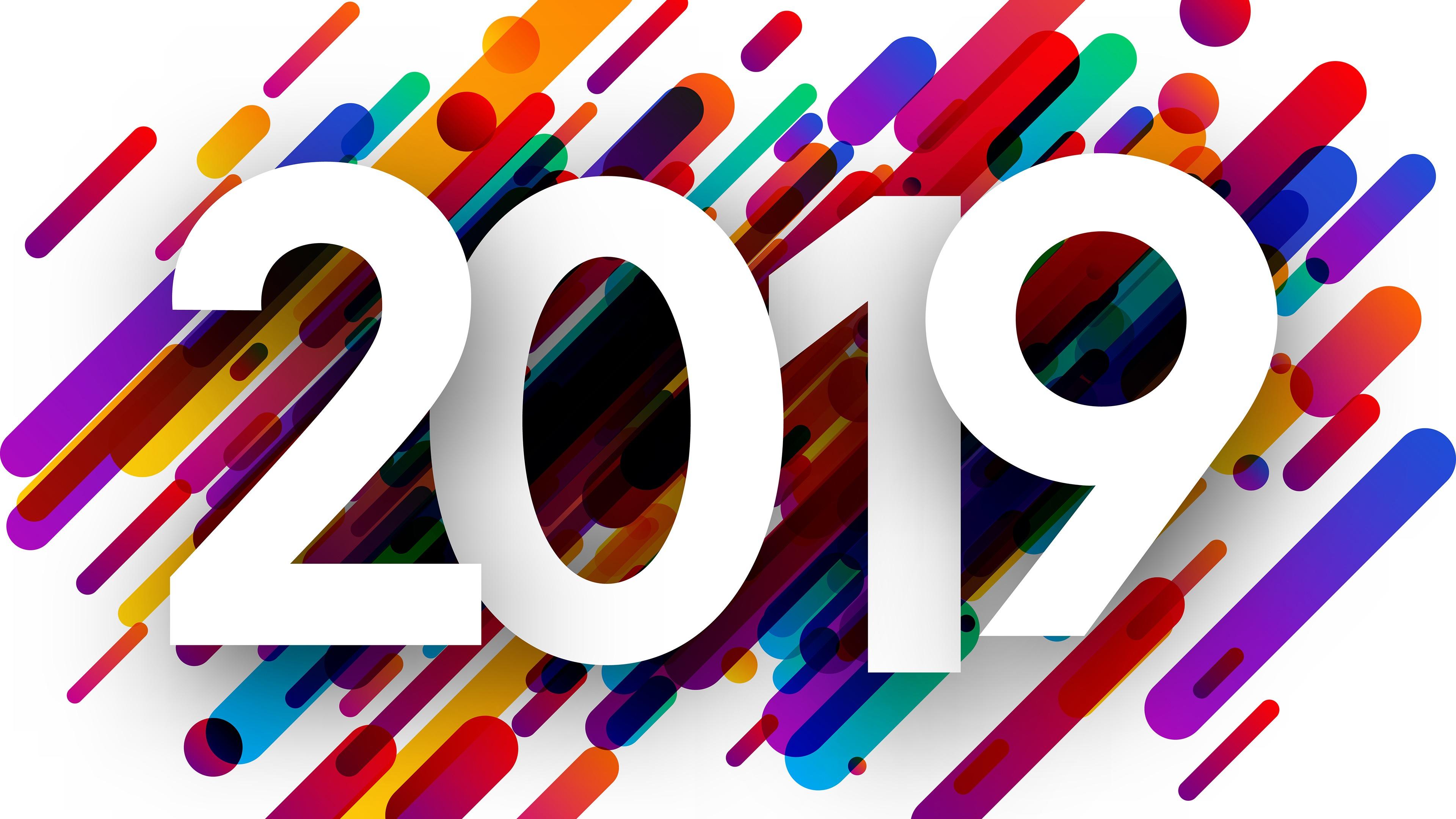 Samsung S4 Hd Wallpapers 2019: 2019, Bonne Année, HD, Bureau Aperçu