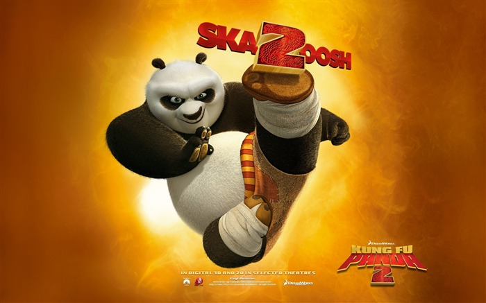 2011 Hollywood movie Kung Fu Panda 2 HD Wallpaper Views:8492
