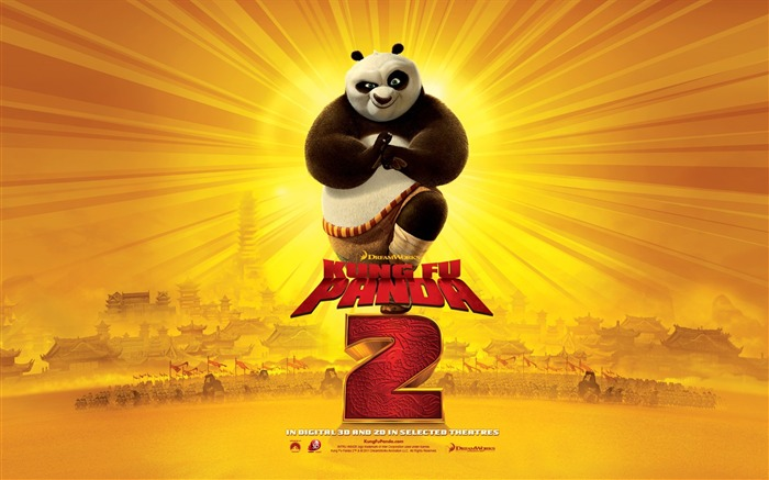 2011 Hollywood movie Kung Fu Panda 2 HD Wallpaper 2 Views:9201