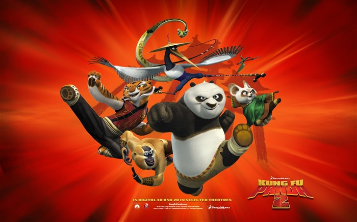 2011 Hollywood movie Kung Fu Panda 2 HD Wallpaper 4 Views:13661