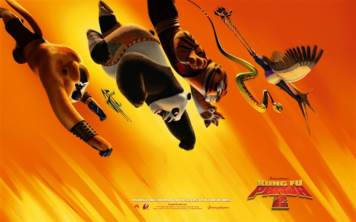 2011 Hollywood movie Kung Fu Panda 2 HD Wallpaper 6 Views:8530