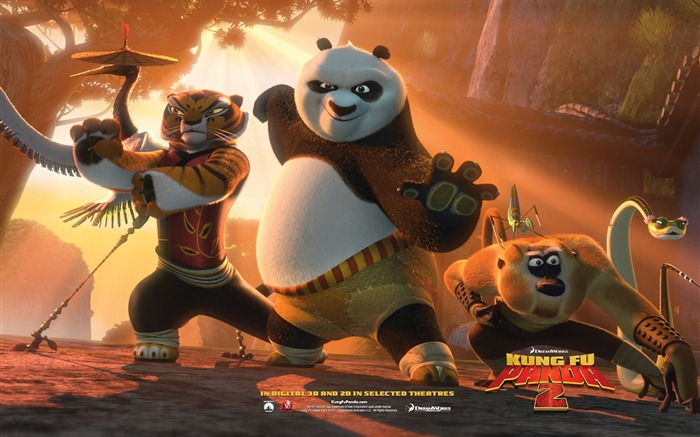 2011 Hollywood movie Kung Fu Panda 2 HD Wallpaper 7 Views:11058