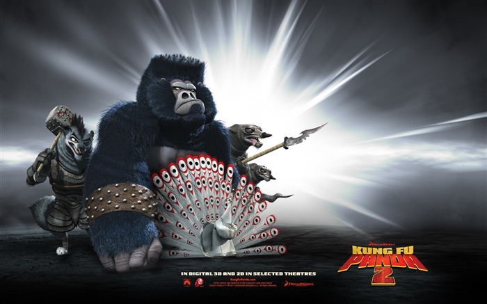 2011 Hollywood movie Kung Fu Panda 2 HD Wallpaper 9 Views:8152