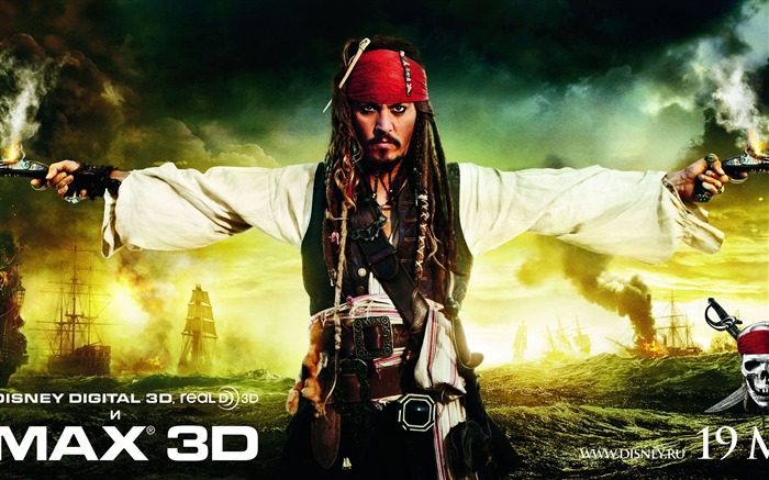 2011 moive Pirates of the Caribbean-On Stranger Tides Wallpaper Views:10712