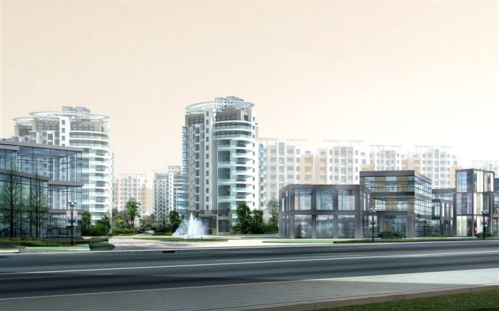 3D Architectural Rendering of Residential Buildings 38 Views:3169