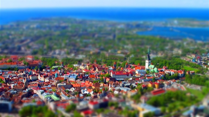 Estonia Tallinn Old Town Wallpaper Views:15661