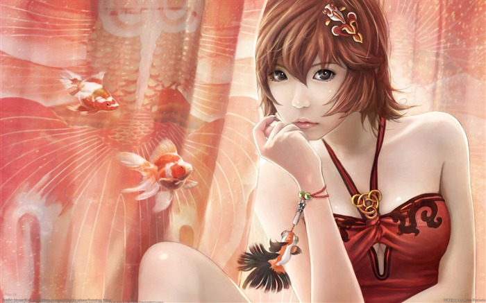 Beautiful CG Characters I-Chen Lin CG Artworks Views:27760
