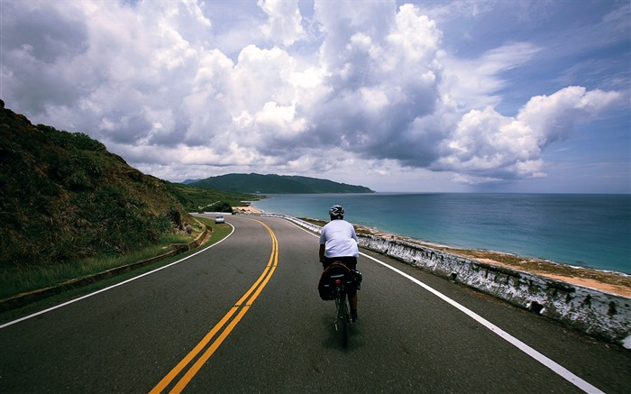 Cycling around the island of Taiwan Frog Full Record Large Photo Wallpaper Views:10944