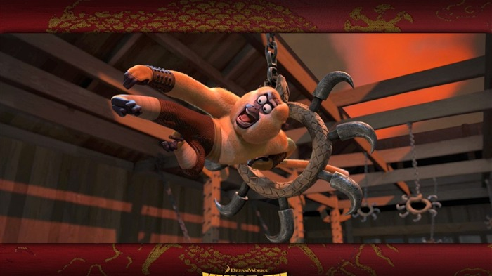 3D animation Kung Fu Panda 1 full wallpaper Views:9217
