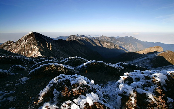 Mountain Peak wallpaper Views:4935