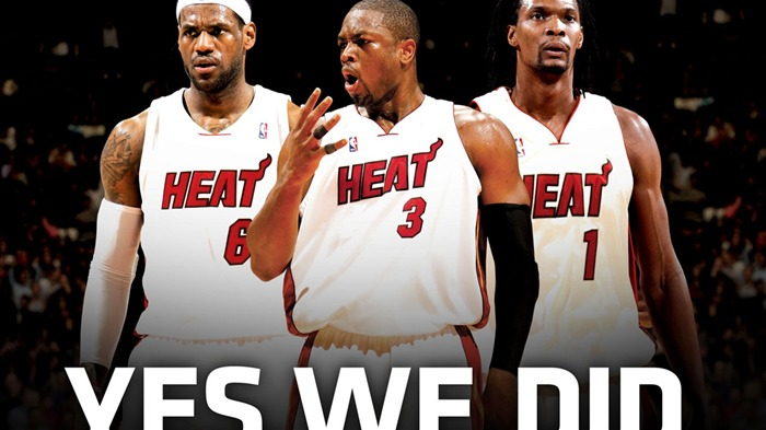 NBA Miami Heat wallpaper10-11 yeswedid Views:17928
