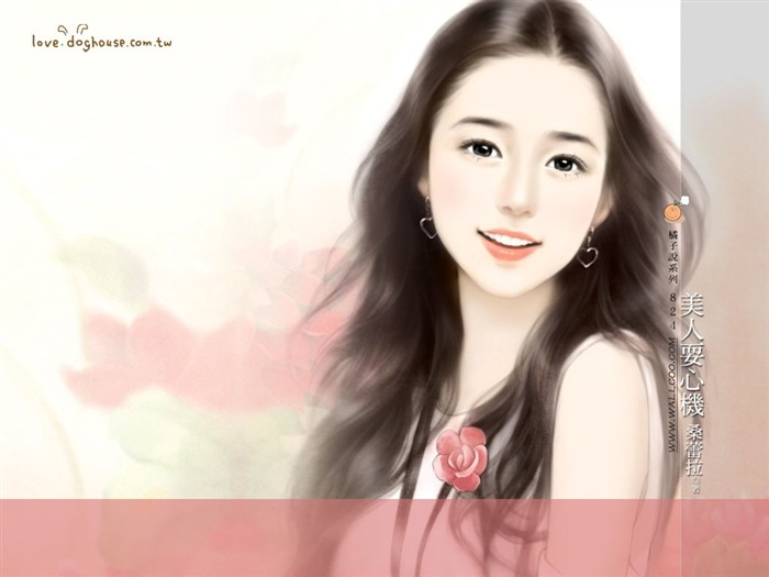 Rosy Angle - Beautiful Sweet Girls in Soft Pastel colors Views:3780