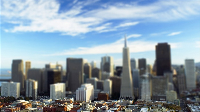 San Francisco shift lens photography wallpaper Views:6880