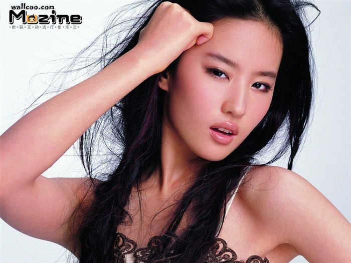Sexy Liu Yifei map desktop wallpaper - Music Magazine Views:2252