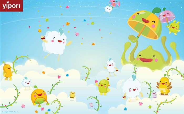 Yipori illustration Wallpaper cute Views:12598