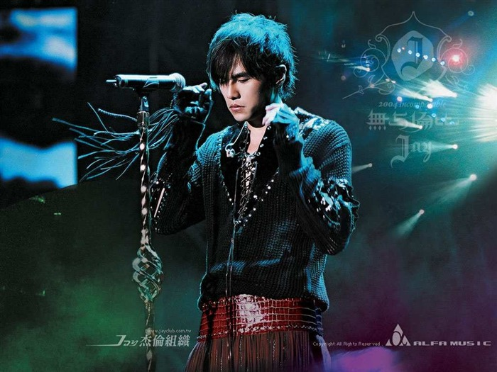 Unmatched - Jay Chou concert and album promotion wallpaper Views:13363