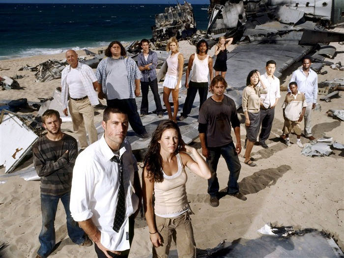 American TV series Lost HD wallpapers posters Views:17188