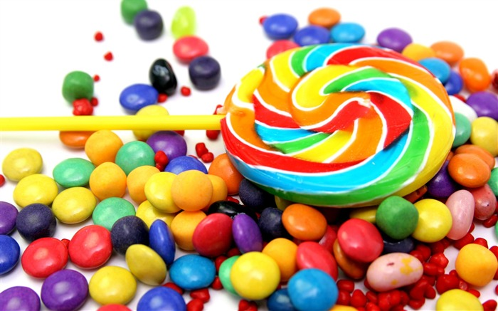 Colorful Candies and Lollipop Views:95926