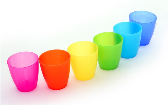 Colorful Cups Cups in Rainbow Colours Views:12127