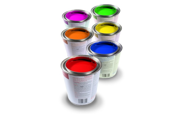 Colorful Oil Paints Colorful Paints in Cans Views:11627