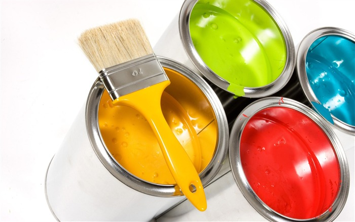 Colorful Paints in Buckets Views:8781