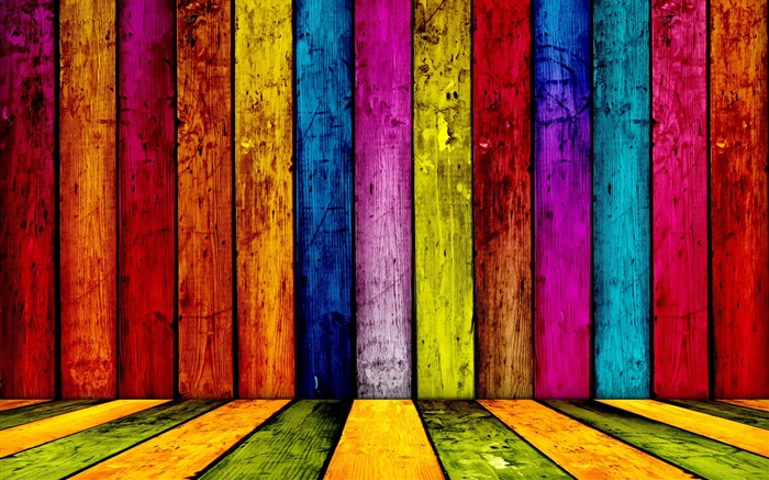 Colorful wood background Views:69294