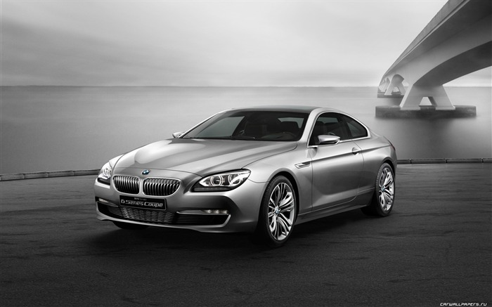 Concept Car BMW 6-Series Coupe - 2010 HD wallpaper Views:12593