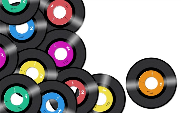 Creative Design Colorful Music Discs Views:10877