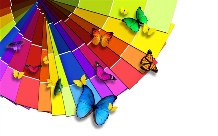 Creative Design Colorful butterflies Views:23213