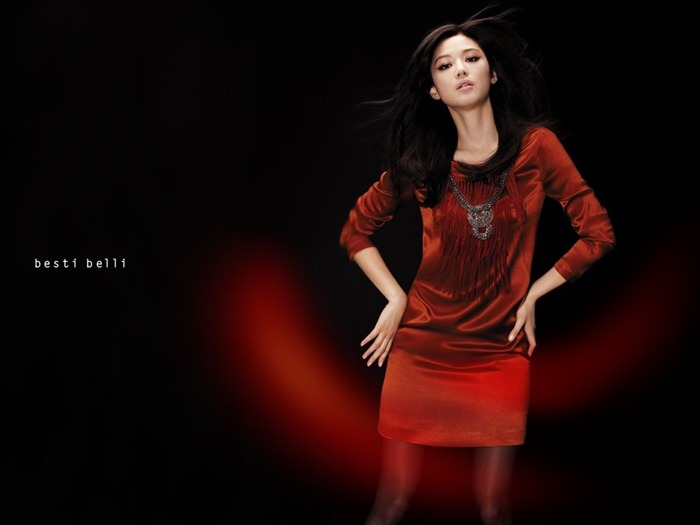 Jun Ji-hyun endorsement Korean clothing brand besti belli wallpaper 17 Views:2407