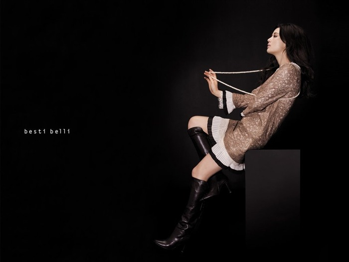 Jun Ji-hyun endorsement Korean clothing brand besti belli wallpaper 18 Views:1936