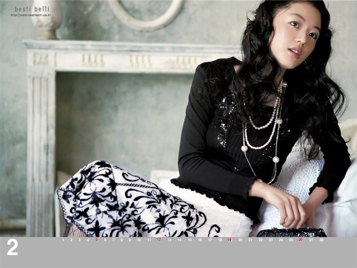 Jun Ji-hyun endorsement Korean clothing brand besti belli wallpaper 22 Views:1836