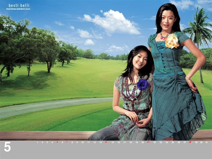 Jun Ji-hyun endorsement Korean clothing brand besti belli wallpaper 26 Views:1096