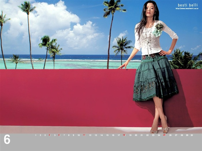 Jun Ji-hyun endorsement Korean clothing brand besti belli wallpaper 27 Views:1445