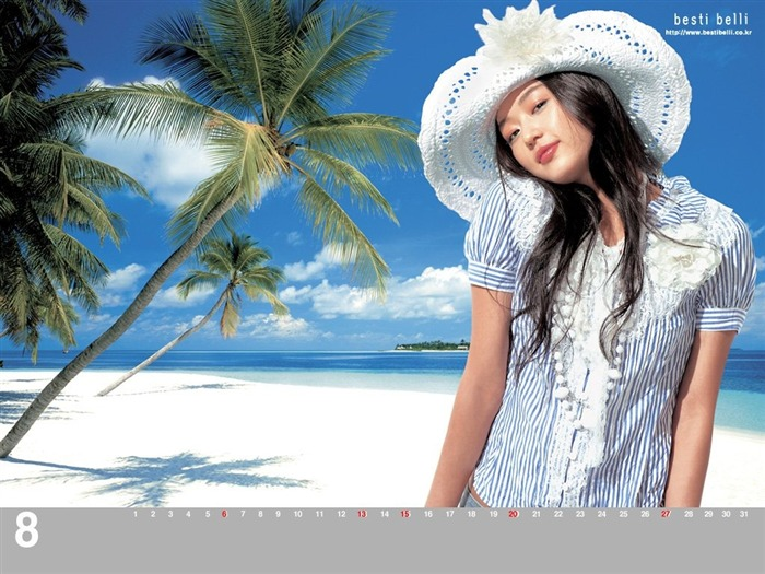 Jun Ji-hyun endorsement Korean clothing brand besti belli wallpaper 29 Views:1218