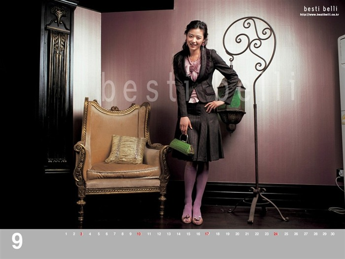 Jun Ji-hyun endorsement Korean clothing brand besti belli wallpaper 30 Views:1089